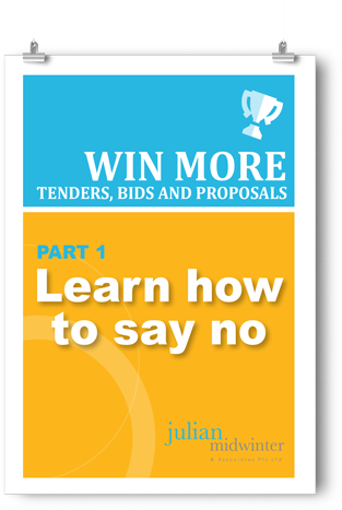 Want to WIN MORE tenders, bids & proposals?